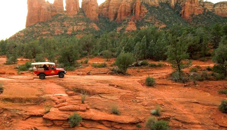 4x4 Jeep Tour Soldiers Pass Trail, Sedona - 1.5 hours Landscape
