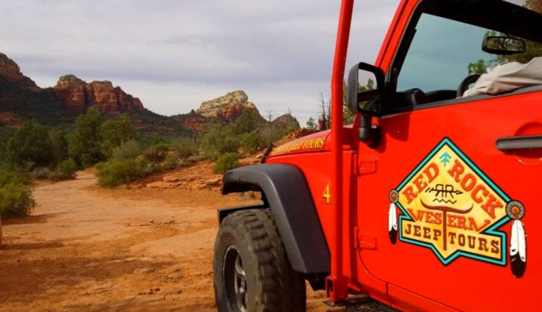 4x4 Jeep Tour Soldiers Pass Trail, Sedona - 1.5 hours Logo