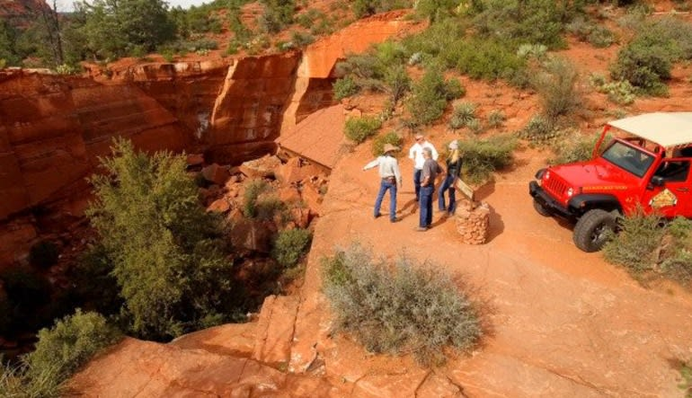 4x4 Jeep Tour Soldiers Pass Trail, Sedona - 1.5 hours Group