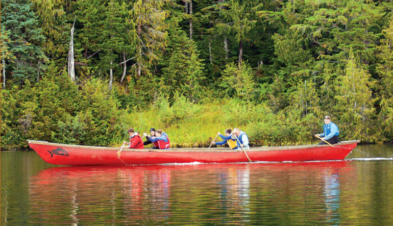 Ketchikan Rainforest Canoe & Nature Trail Adventure - 3.5 hours Canoe