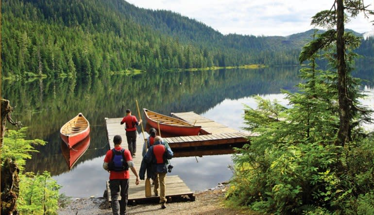 Ketchikan Backcountry Jeep & Canoe Safari - 4 Hours Wharf