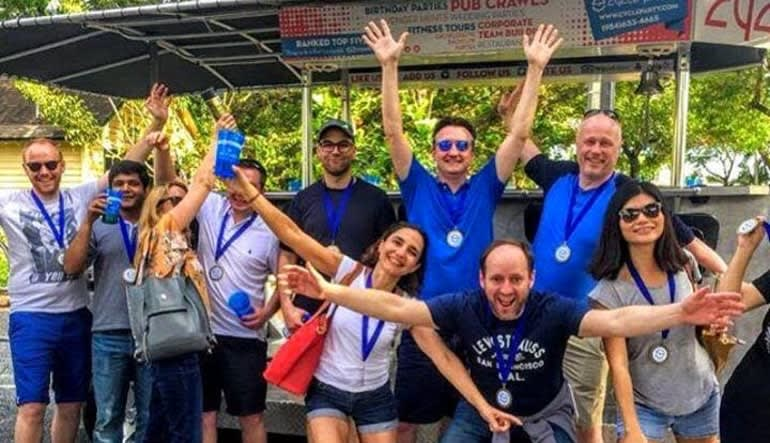 Happy Hour Private Pub Crawl Downtown Fort Lauderdale Group