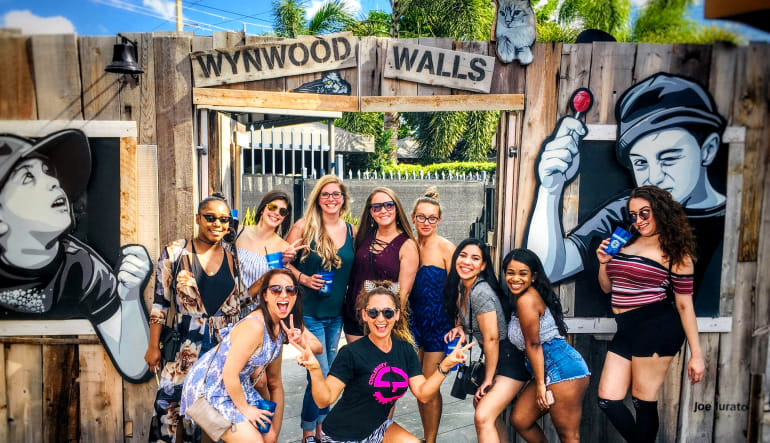 Private Cycle Party Wynwood Insta Tour, Miami - 1.5 Hours