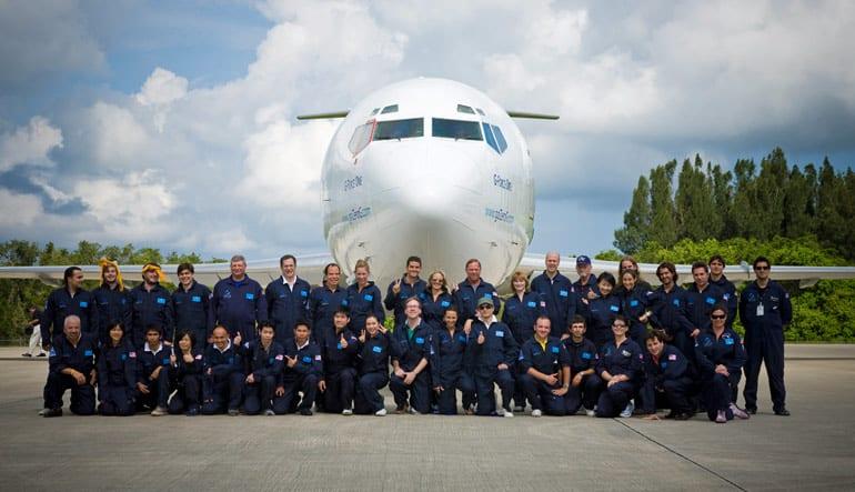 ZERO-G Reduced-Gravity Flight - Orlando