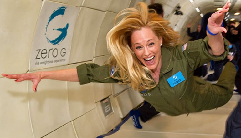 ZERO-G Reduced-Gravity Flight - San Francisco