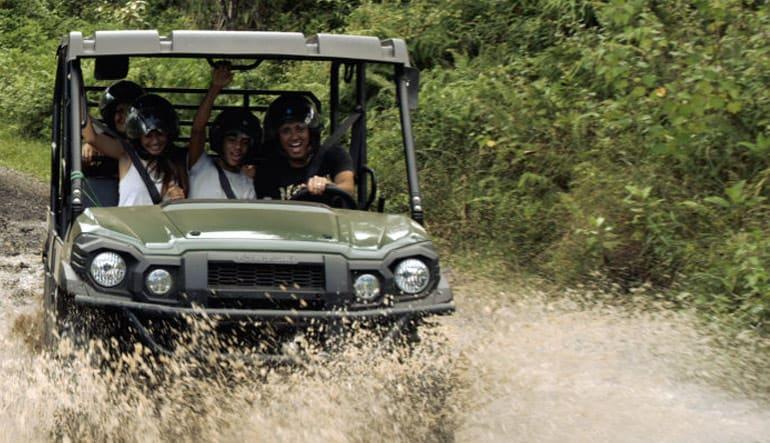UTV Guided Tour Oahu, Kualoa Ranch - 2 Hours (Book Up to 5 People Per Vehicle!)