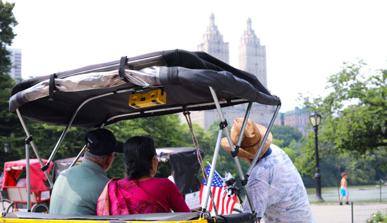 Central Park Pedicab Tour- 1 Hour Sights