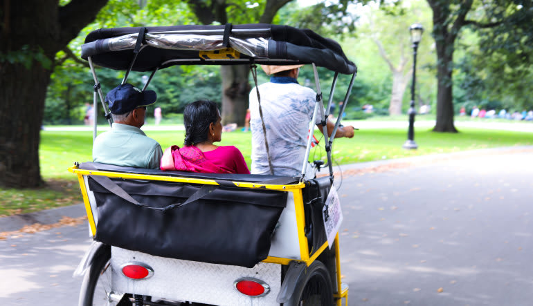 Central Park Pedicab Tour- 1 Hour Ride
