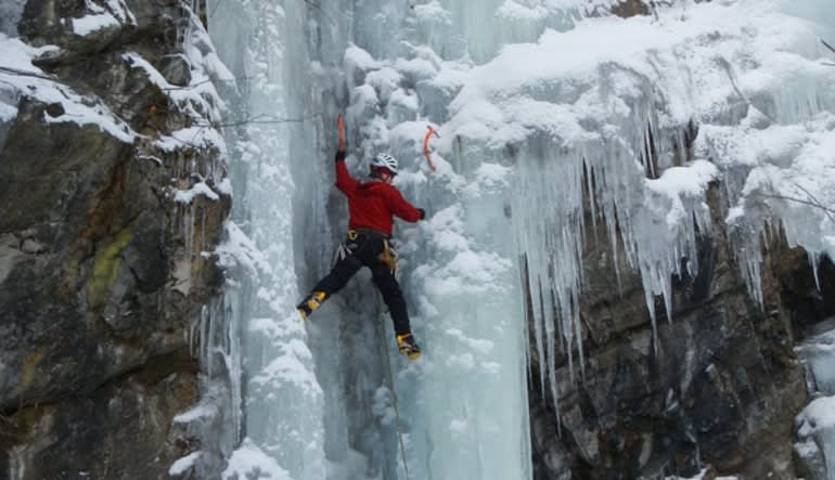 Vermont Ice Climbing, Privately Guided - Full Day Trip Ledge