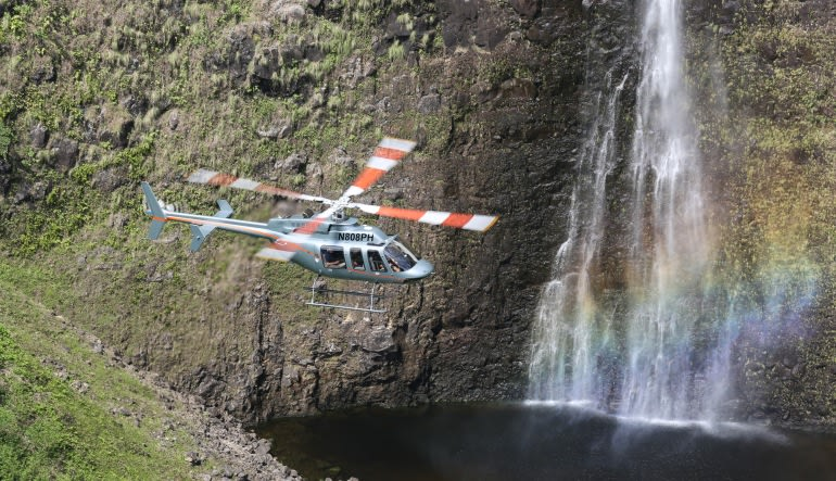Helicopter Tour Big Island, Circle Island Experience - 2.5 Hours Waterfall
