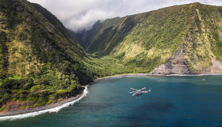 Helicopter Tour Big Island, Circle Island Experience - 2.5 Hours Valley