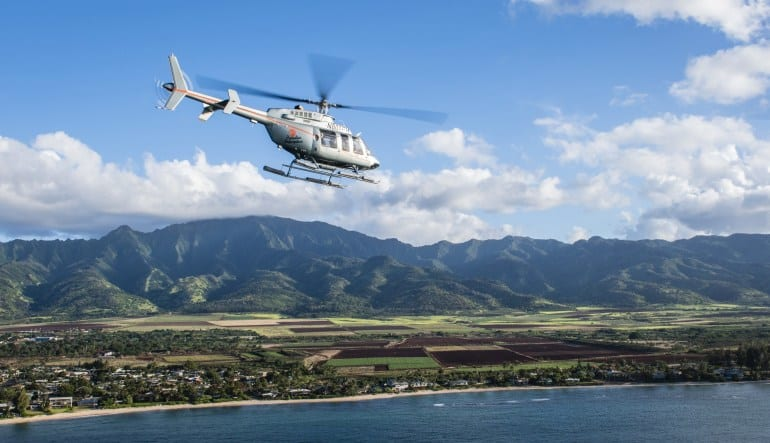 Helicopter Tour Oahu, North Shore Adventure Flight - 20 Minutes Inflight