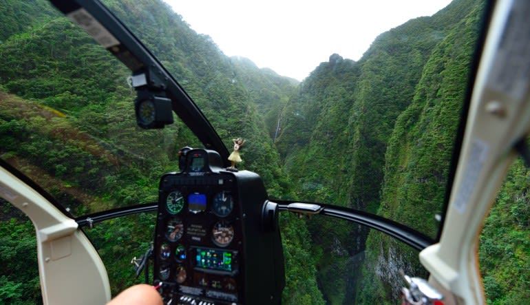 Helicopter Tour Oahu - Valleys and Waterfall Flight - 40 Minutes Cockpit