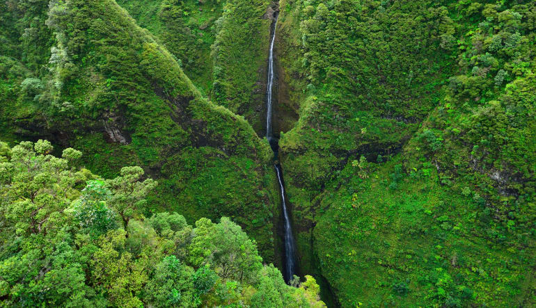 Helicopter Tour Oahu - Valleys and Waterfall Flight - 40 Minutes Waterfall