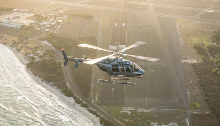 Helicopter Tour Oahu - North Shore Sunset Flight - 30 Minutes