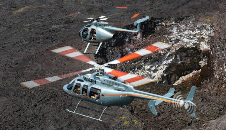 Helicopter Tour Big Island, Lava and Rainforests Adventure - 45 Minutes Bell