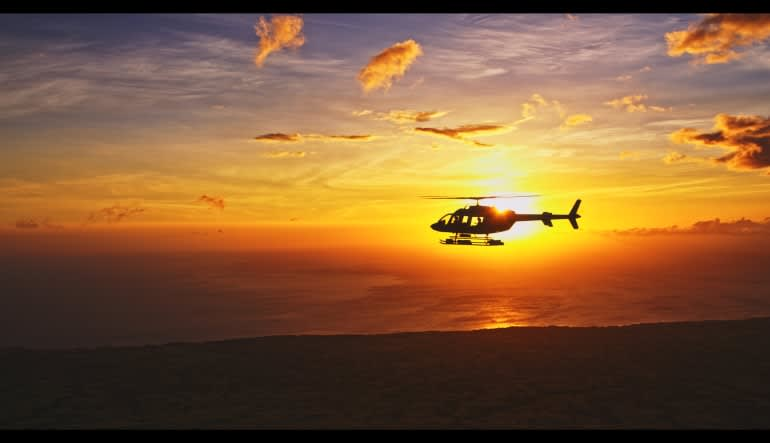 Helicopter Tour Big Island, Kona Sunset Experience - 2 Hours