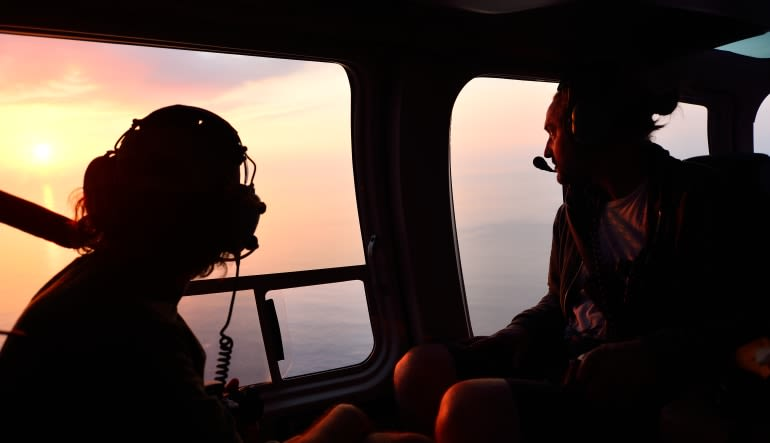 Helicopter Tour Big Island, Kona Sunset Experience - 2 Hours Customers