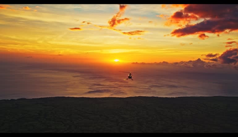 Helicopter Tour Big Island, Kona Sunset Experience - 2 Hours Dusk