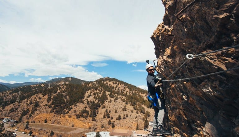 Mount Evans Via Ferrata Tour- Half Day Man