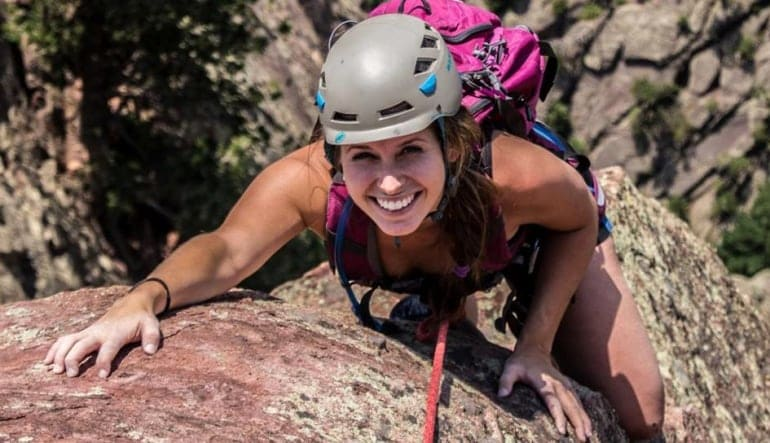Granite Via Ferrata Tour- Half Day  Lady