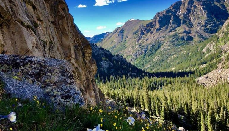 Guided Hike Rocky Mountain National Park - Full Day Landscape