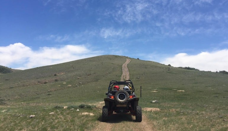 UTV Off Road Rental, Colorado - Full Day Driving Away