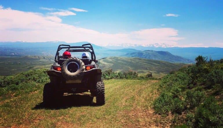 UTV Off Road Rental, Colorado - Half Day Ride