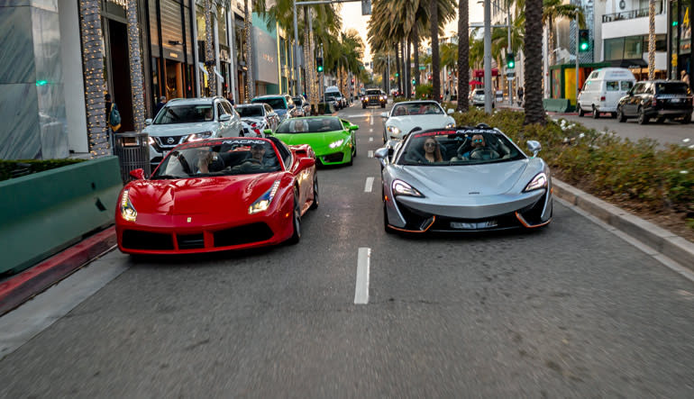 Los Angeles Supercar Tour - 3 Hours (Drive 4 Different Supercars!)