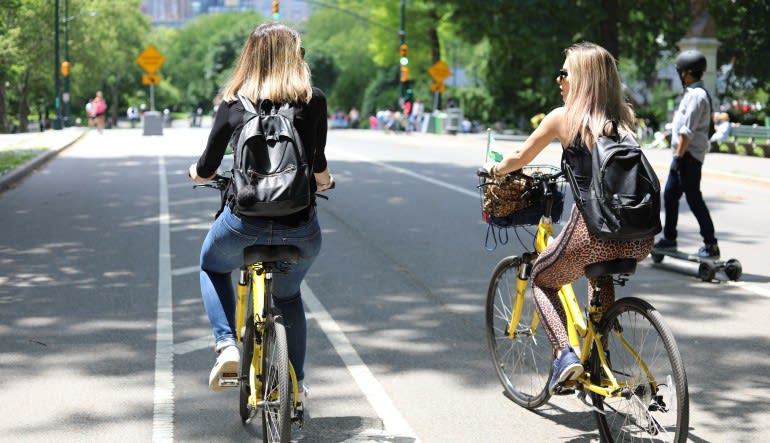 Central Park Bike Rentals - Day Pass Riding