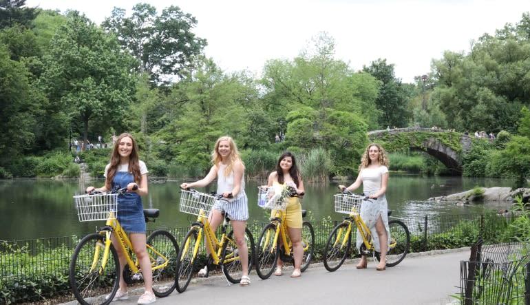 Central Park Bike Rentals - Day Pass Ladies