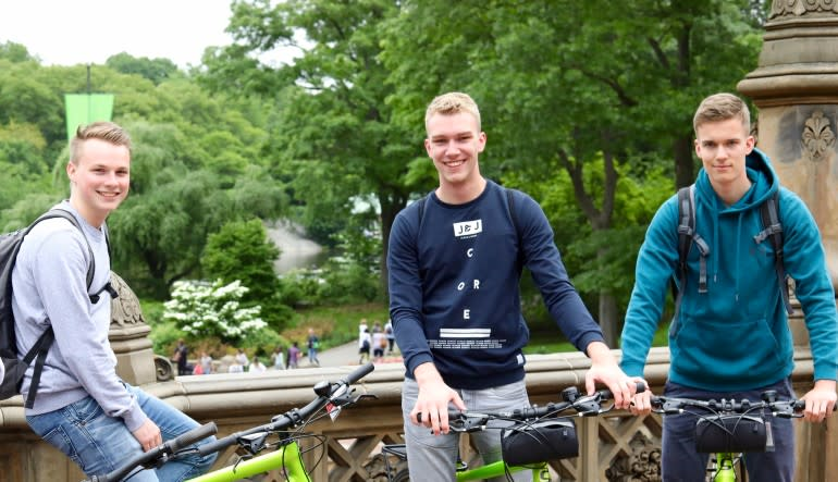Central Park Bike Rentals - Day Pass Boys