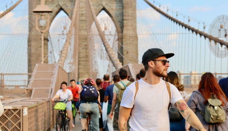 Brooklyn Bridge Bike Rental - Day Pass Man