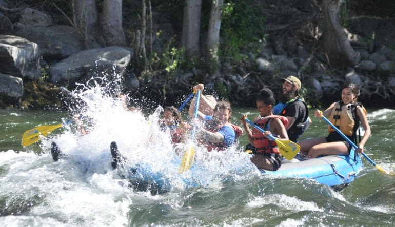 Whitewater Rafting Seattle, Tieton River - SEPTEMBER ONLY Group