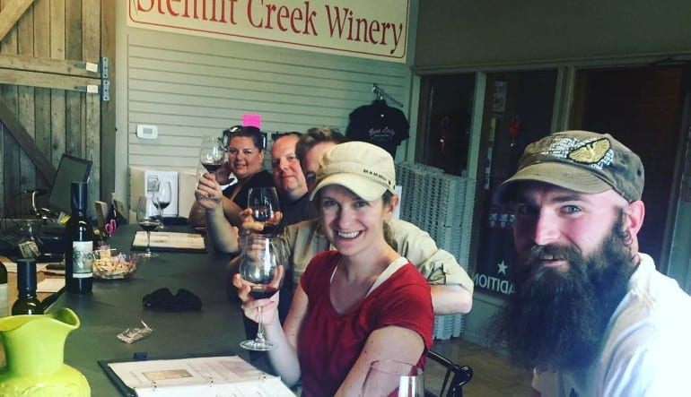 Whitewater Rafting, Wine & Camping, Wenatchee River - Overnight Group Tasting