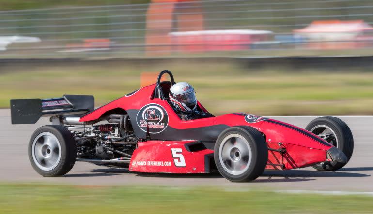 Formula Car 5 Lap Drive