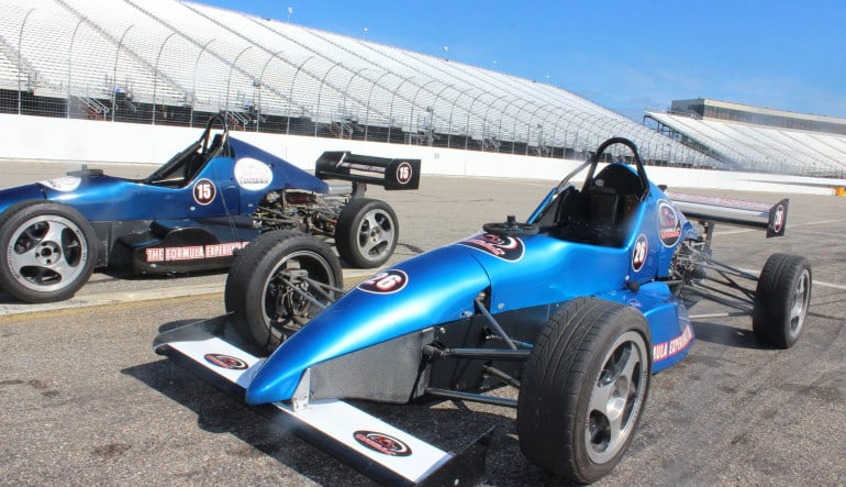 Formula Car 5 Lap Drive - Milwaukee Mile Speedway