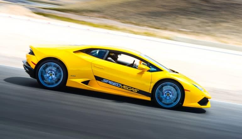 Lamborghini Huracan 5 Lap Drive (Includes Hotel Shuttle Pick Up)-Las Vegas Action