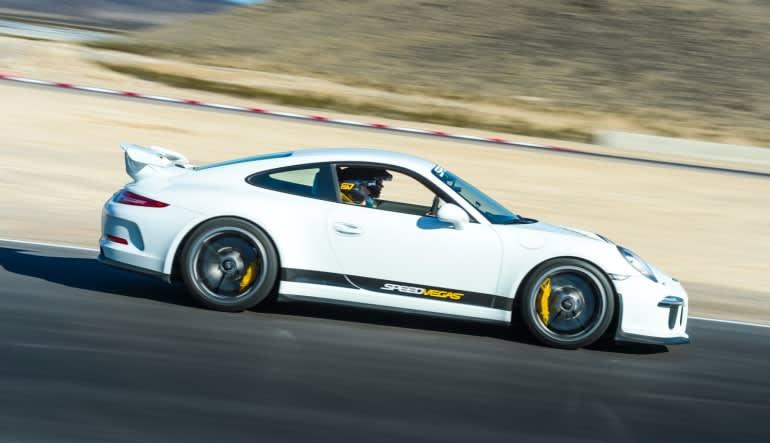 Porsche 911 GT3 5 Lap Drive Las Vegas with Hotel Shuttle