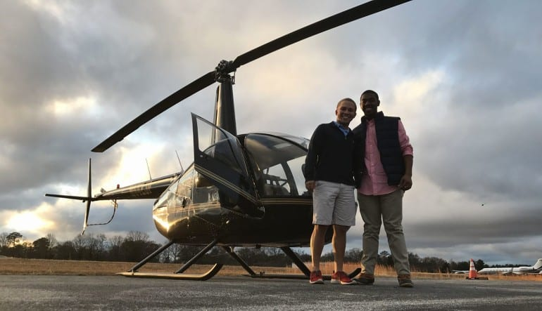 Helicopter Introductory Flight Lesson, Atlanta - 30 Minute Flight Friends