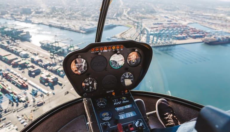 Helicopter OC Surf Spots Tour - 45 Minutes (Single Passenger) R22