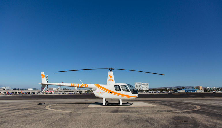 Helicopter OC Surf Spots Tour - 45 Minutes R44 Aircraft