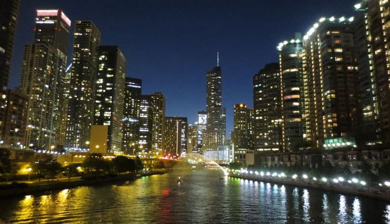 Chicago Double Decker Bus Night Tour - 2 Hours
