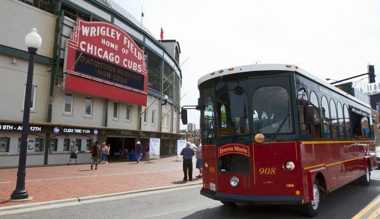 Chicago Trolley Tour, Two Day Hop-On-Hop-Off Tour (Includes Northside Excursion)