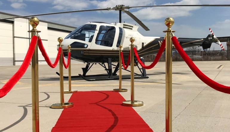 Helicopter Ride Discover Chicago Premium - 5 Minutes VIP