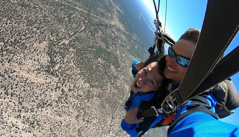 Skydive Grand Canyon from 15,000 feet