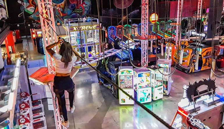 Indoor Obstacle Course, Laser Tag, and Arcade Adventure Package - Fort Lauderdale