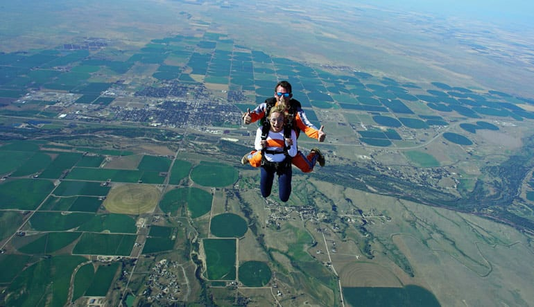Skydive Denver - 13,000ft Weekend Jump