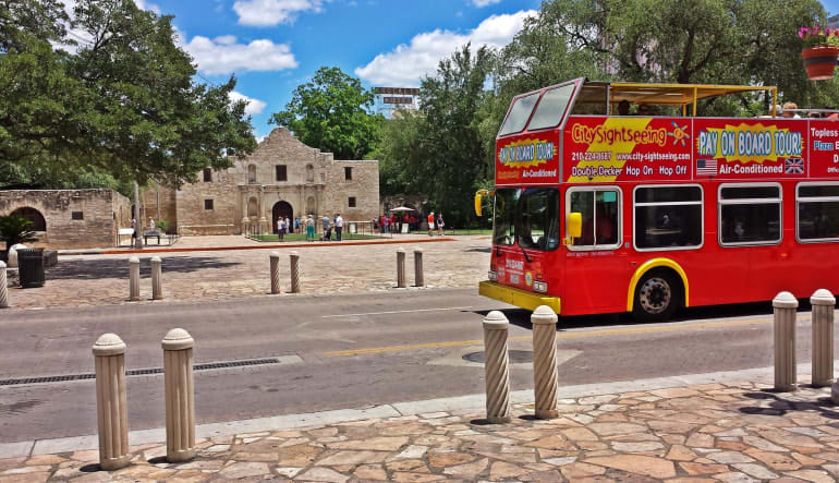 San Antonio Bus Tour, 2 Day Hop-On-Hop-Off Tour