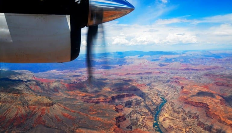 Grand Canyon West Visionary Plane Tour - 4 Hours